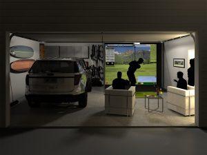 Sim Room Garage Night